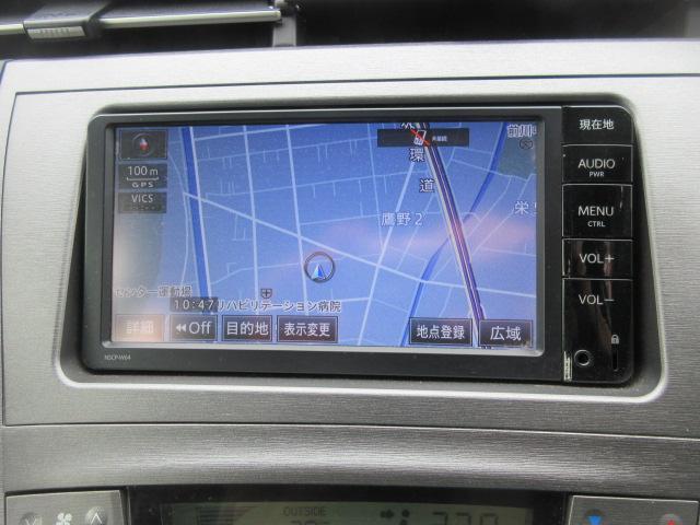 L 純正ナビTV Bカメラ ETC 純正アルミ キーレスキー(4枚目)