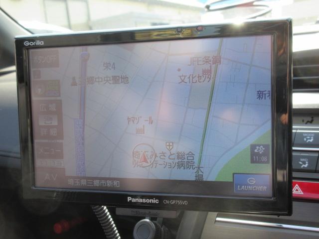 α 無限フルエアロ ナビTV Bカメラ ETC LEDライト(4枚目)