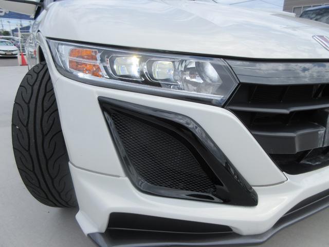 β 無限エアロ 無限AW ナビTV 6スピード 革調シートカバー ETC LEDヘッド スマートキー 新車記録簿(16枚目)