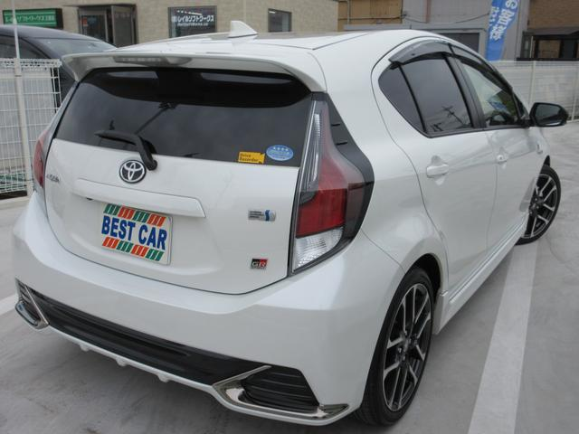 G GRスポーツ・17インチパッケージ 禁煙車 ドラレコ フルセグナビTV バックカメラ ETC Bluetooth CD LEDヘッドライトシステム LEDフォグライト 専用ブレーキキャリパー 先行車発進告知機能(6枚目)