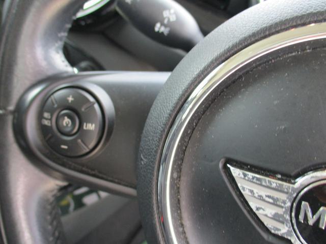 クーパーSD クラブマン 禁煙車 純正ナビフルセグTV Bluetooth ミラーETC クルーズコントロール リヤビューカメラ コンフォートアクセス LEDヘッドライトシステム リヤパークディスタンス 純正アルミホイール(19枚目)