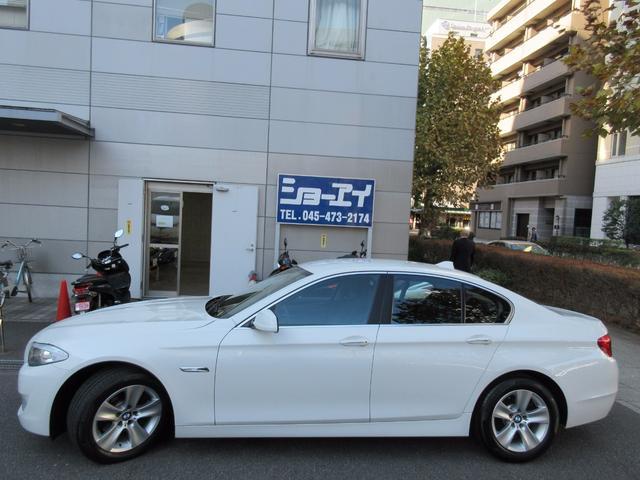 BMW BMW 528i ディーラー下取車 1オーナー ディーラー記録簿5枚