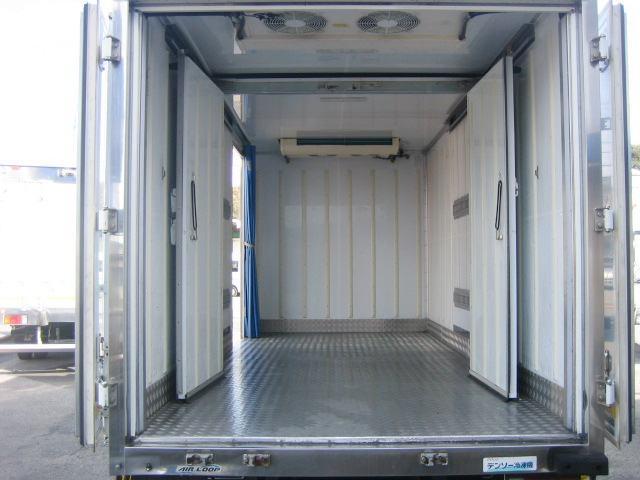 冷蔵冷凍車 低温冷凍車 2室仕様冷凍車(5枚目)