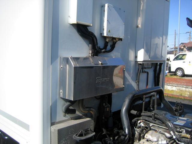 冷蔵冷凍車 中温冷凍車 ワイドロング冷凍車(13枚目)