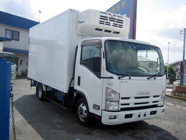 冷蔵冷凍車 低温冷凍車 スタンバイ付冷凍車 ワイドロング(2枚目)