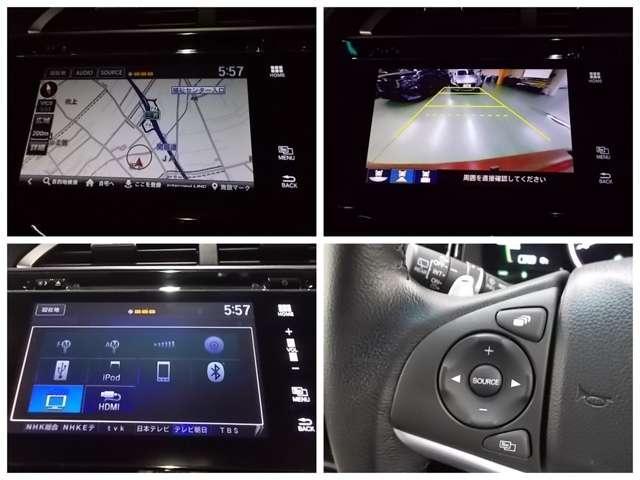 ハイブリッドX ホンダセンシング 純正メモリーナビ フルセグ Bluetooth USB リアカメラ LEDヘッドライト ETC ホンダセンシング パドルシフト クルーズコントロール オートライト(4枚目)