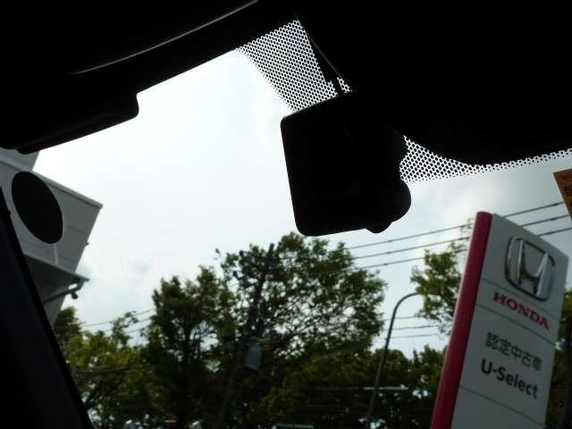 L・ターボホンダセンシング 純正8INナビ 前後ドラレコ ETC LED ワンオーナー LED メモリーナビ フルセグ オートクルーズ 盗難防止システム ETC ターボ スマートキー アイドリングストップ サイドSRS 禁煙(12枚目)