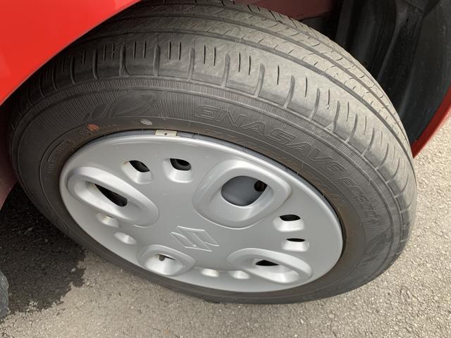 タイヤの溝はまだまだ残っています!