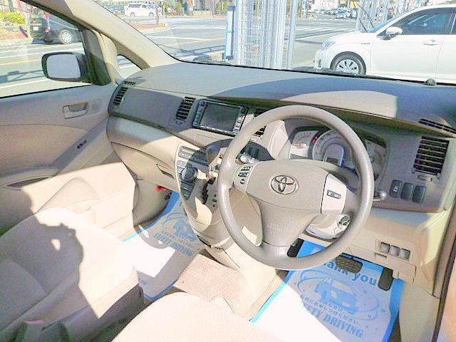 トヨタ アイシス L ナビ 自動ドア フロントバックモニター ETC