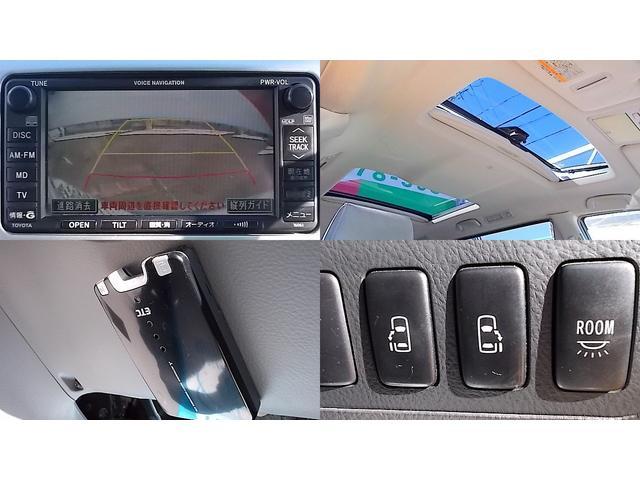 トヨタ アルファードG AS 両側自動ドア ツインムーンルーフ ETC