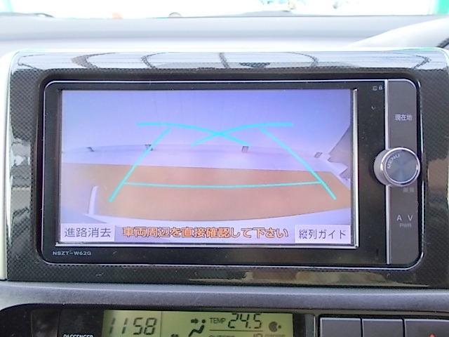 トヨタ ウィッシュ 1.8S 純正SDナビ フルセグTV Bluetooth