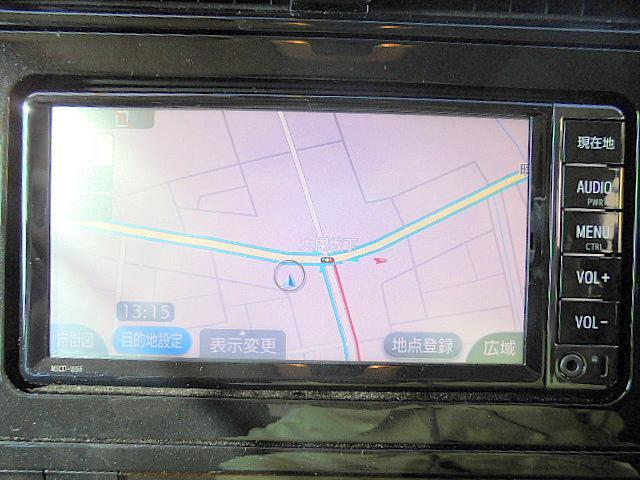 純正SDナビ付き!地デジTV、Bluetoothオーディオ、バックモニターと装備が充実しております!