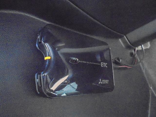 ETC付き!高速道路での移動に便利ですね!どうせ買うなら付いていた方が良い、需要の高い装備です!