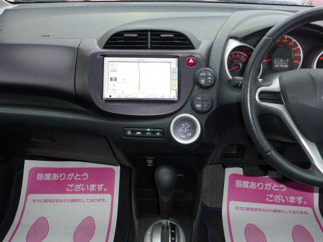 ホンダ フィット RS ワンオーナー 禁煙車 純正メモリーナビTV p