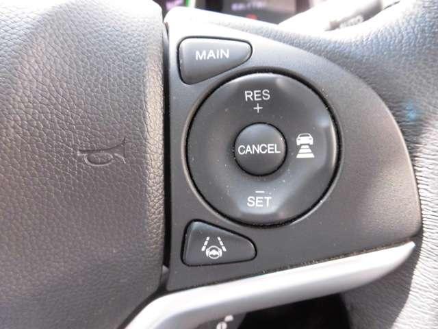 センシング搭載モデルですので高速は車間・車線維持の機能付クルーズコントロールです。凄いです!とっても快適に高速クルージングが可能となりました。