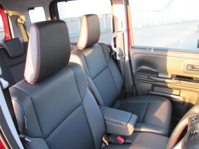 一部レザー調ファブリックシート表皮 センターアームレスト 運転席シートヒーター&シートリフター