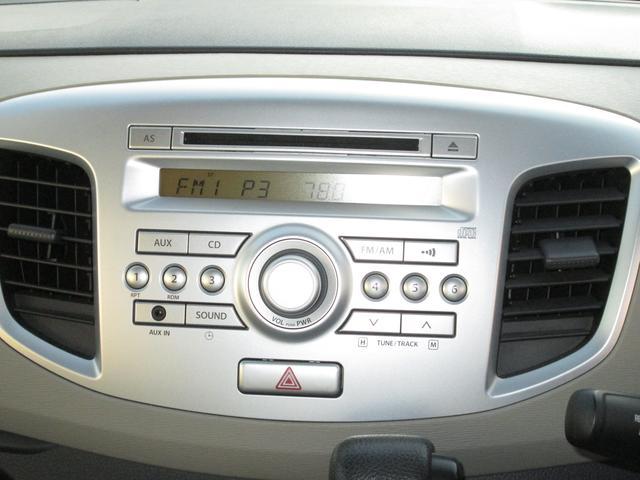 純正オーディオ付き【CD再生・AM/FMラジオ・外部端子入力】