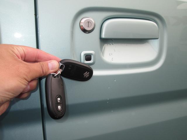 リクエストスイッチ 携帯リモコンが近くにあればワンタッチでドアの開錠・施錠ができます