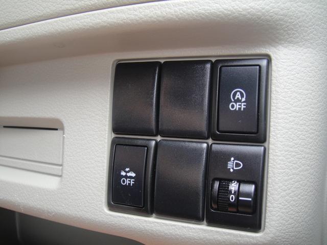 右下:アイドリングストップキャンセルスイッチ。右下:ヘッドライトレベライザー。左下:レーダーOFFスイッチです!!