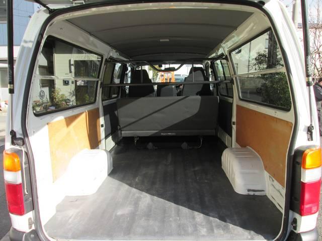 トヨタ ハイエースバン ロングDX GLパッケージガソリン車両側スライドドア低床荷台