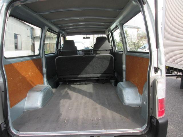 日産 キャラバン ロングDX 1オーナー 低床荷台 両側スライドドア