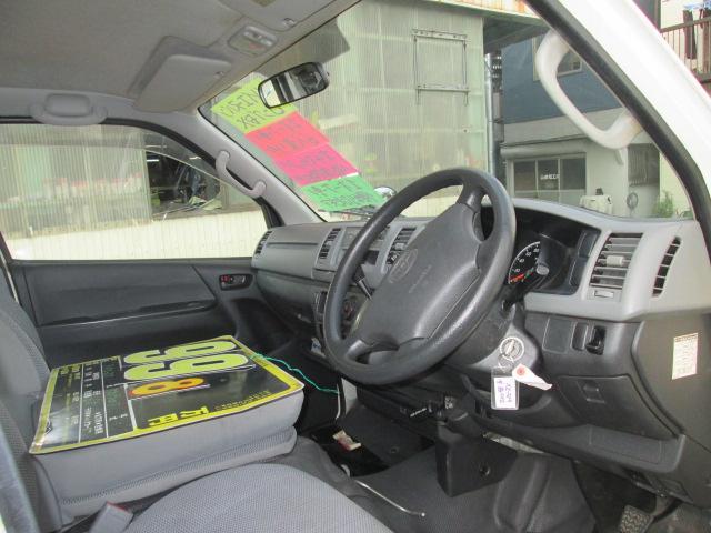 トヨタ ハイエースバン ロングDX 1オーナー 低床荷台 両側ドア