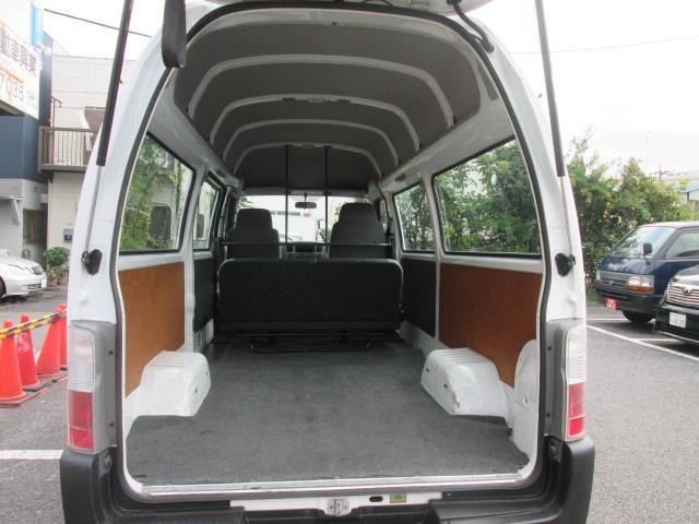 日産 キャラバン SロングDX ハイルーフ 低床荷台 オートマチック