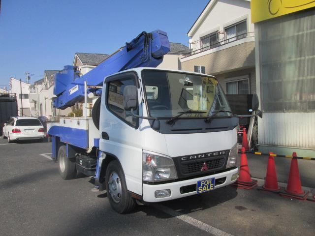 高所作業車 絶縁バケット アイチAT-100TT(2枚目)