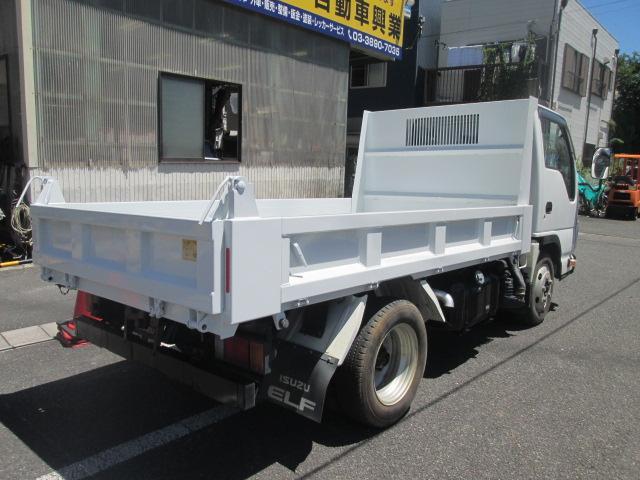 強化フルフラットローダンプ 2T積 車両総重量5T未満5MT(4枚目)