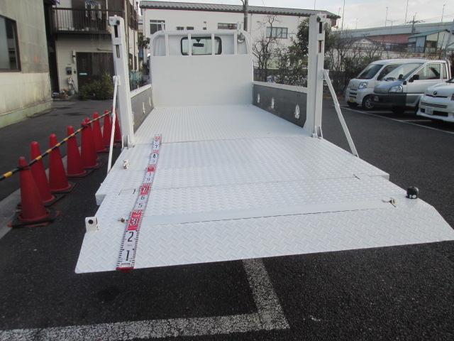 全低床 2t積 垂直パワーリフト 1オーナー オートマチック Wタイヤ(7枚目)