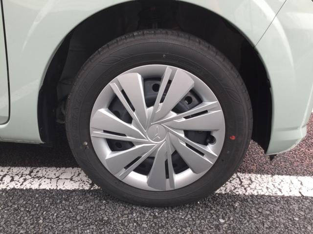 14インチのタイヤ。このサイズのタイヤだと入手しやすい価格と種類です。