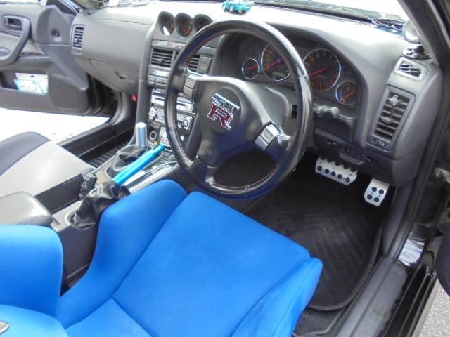 25GT-Xターボ  トラスト車高調 レカロ タイベル交換済(14枚目)