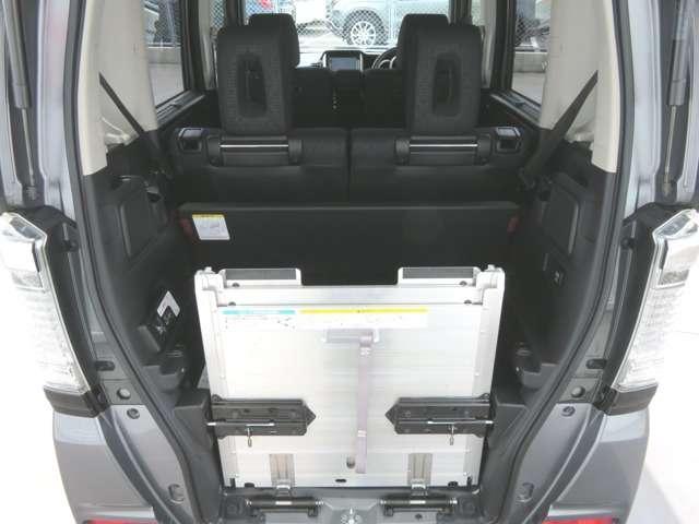 ホンダ N BOX+カスタム 660 カスタムG SSパッケージ 車いす仕様車 Mナビ バック