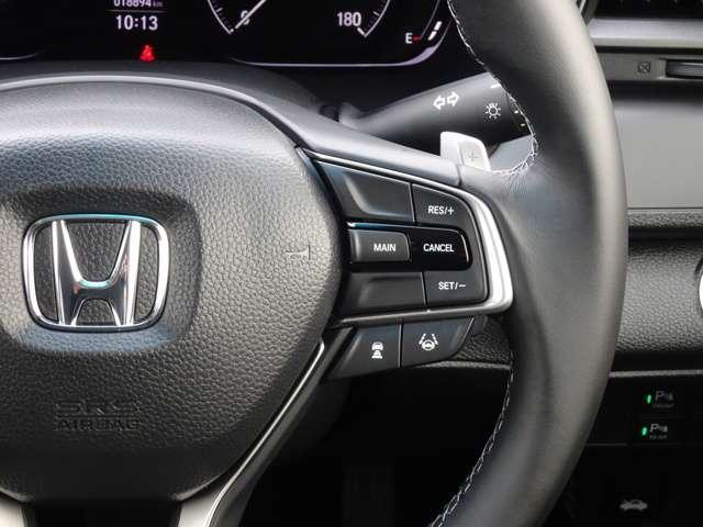 LX 認定中古車 ワンオーナーHonda SENSING Hondaインターナビ+リンクアップフリー+ETC2.0車載器 電子制御パーキングブレーキ シートヒーター(15枚目)