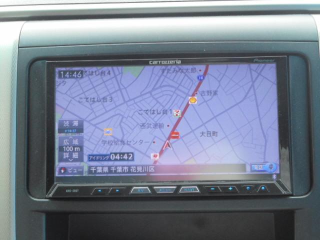 トヨタ ヴェルファイア 2.4ZHDDナビバックカメラ両側パワーシートカバー