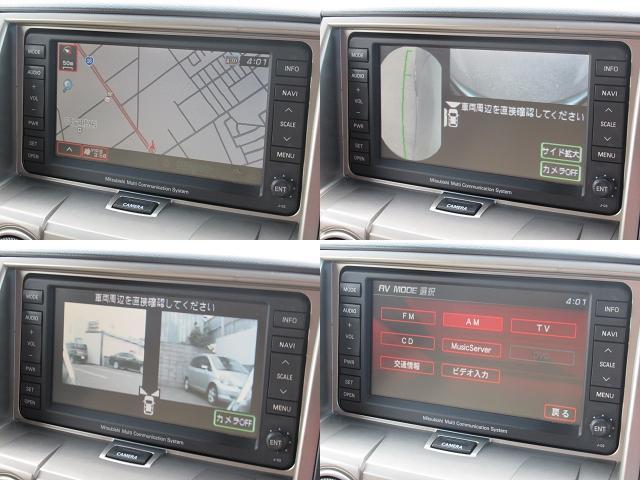 GナビPKG 純正HDDナビ両パワFSRカメラPテールETC(6枚目)