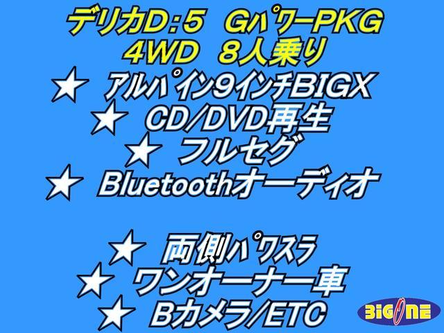 Gパワー 9インチBIGX両パワスラ1オーナーBカメラETC(6枚目)