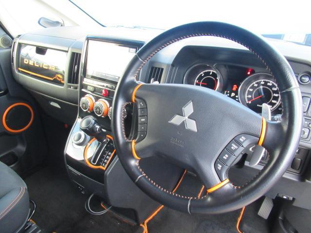 アクティブギア 特別仕様車 アルパイン 9インチBIGX CD/DVD再生 BTオーディオ 地デジ 両パワスラ 後席フリップダウンモニター Bカメラ ETC シートヒーター ハーフレザーシート(37枚目)
