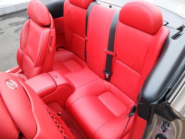 レクサス SC SC430 マクレビ スカッフイルミ シートヒーター