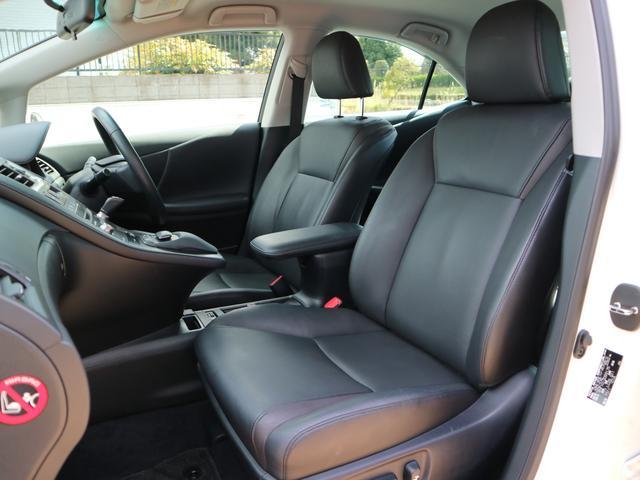 レクサス HS HS250h バージョンC黒革オート格納ミラーシートヒーター
