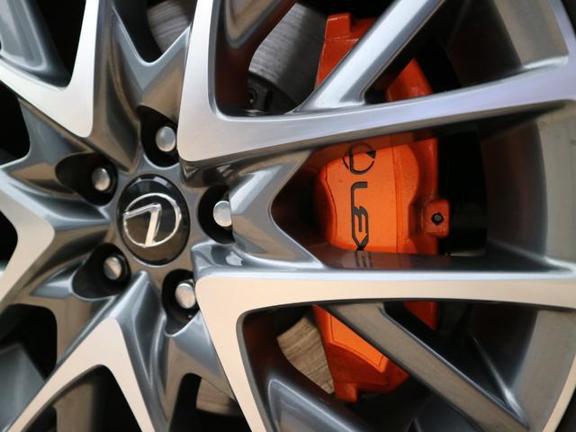 RC350 Fスポーツ 三眼LEDヘッドライト クリアランスソナー プリクラッシュセーフティー レーダークルーズ ブラインドスポットモニター オレンジキャリパー(11枚目)