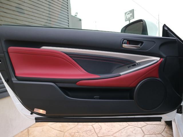 RC350 Fスポーツ 三眼LEDヘッドライト クリアランスソナー プリクラッシュセーフティー レーダークルーズ ブラインドスポットモニター オレンジキャリパー(33枚目)