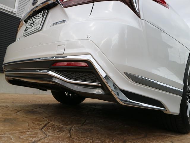 LS500h バージョンL モデリスタエアロキット スパッタリング塗装20インチ マークレビンソンオーディオ サンルーフ ドラレコ(13枚目)