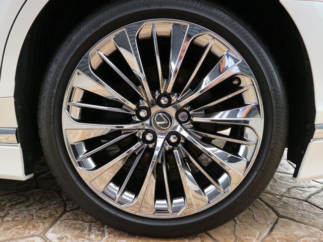 LS500h バージョンL モデリスタエアロキット スパッタリング塗装20インチ マークレビンソンオーディオ サンルーフ ドラレコ(32枚目)