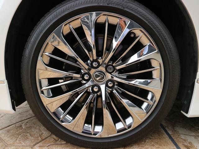 LS500h バージョンL モデリスタエアロキット スパッタリング塗装20インチ マークレビンソンオーディオ サンルーフ ドラレコ(33枚目)