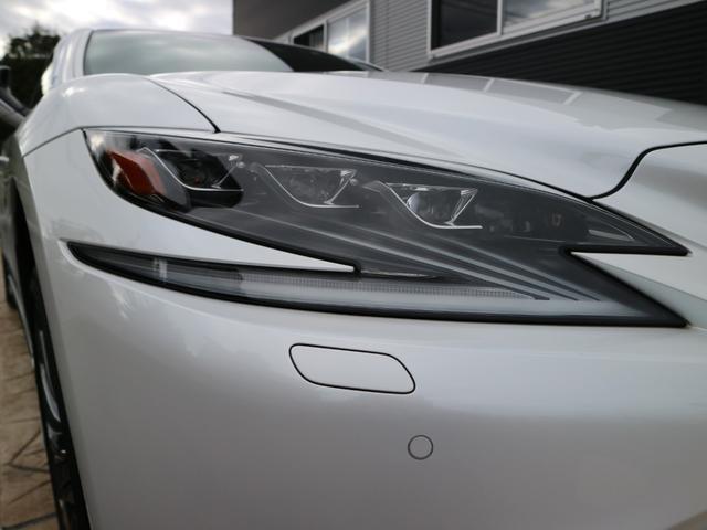 LS500h バージョンL モデリスタエアロキット スパッタリング塗装20インチ マークレビンソンオーディオ サンルーフ ドラレコ(37枚目)