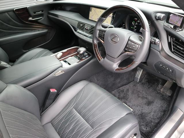 LS500h バージョンL モデリスタエアロキット スパッタリング塗装20インチ マークレビンソンオーディオ サンルーフ ドラレコ(42枚目)