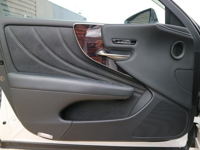 LS500h バージョンL モデリスタエアロキット スパッタリング塗装20インチ マークレビンソンオーディオ サンルーフ ドラレコ(54枚目)