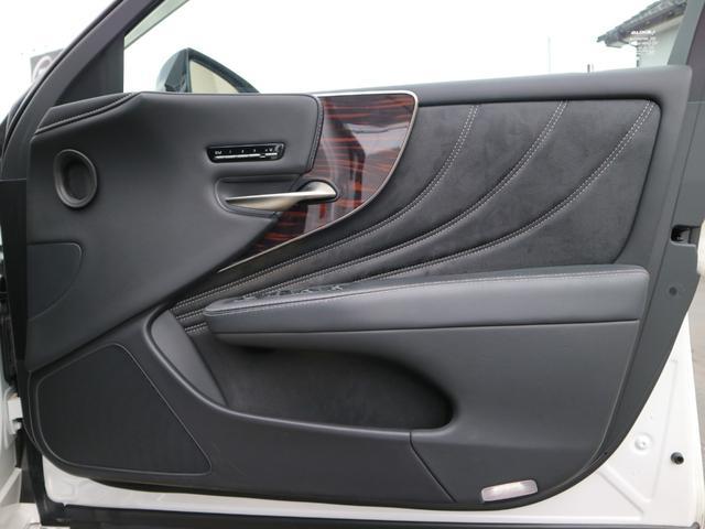 LS500h バージョンL モデリスタエアロキット スパッタリング塗装20インチ マークレビンソンオーディオ サンルーフ ドラレコ(55枚目)