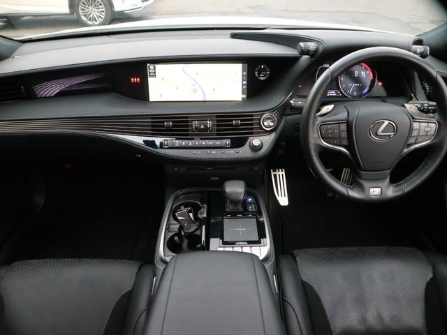 LS500 Fスポーツ 4WD TRDエアロ マフラー マークレビンソン デジタルインナーミラー ドライブレコーダー サンルーフ(8枚目)